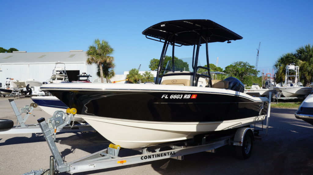 scout, scout boats, t-top, folding t-top
