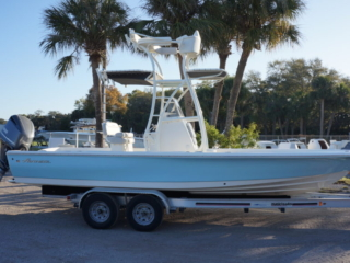 avenger boats, bay boat, tower boat, console tower, powder coat