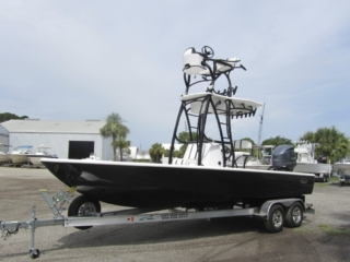 cape bay, tower boat, powder coat, console tower