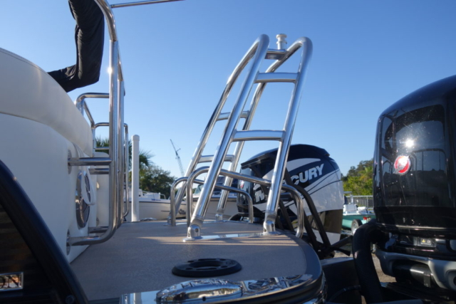 tow point, harris pontoon, pontoon boat