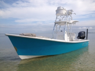 gause built, gause, tower boat, console tower