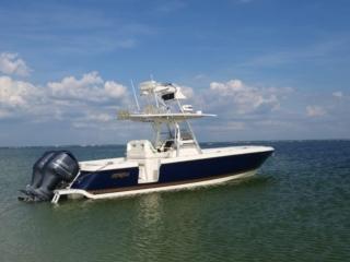 intrepid, tower boat, hardtop